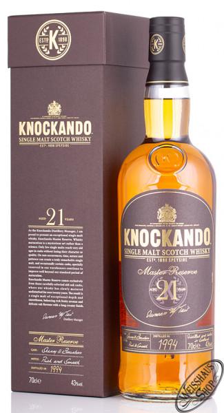Knockando 21 YO Master Reserve Whisky 43% 0,70l