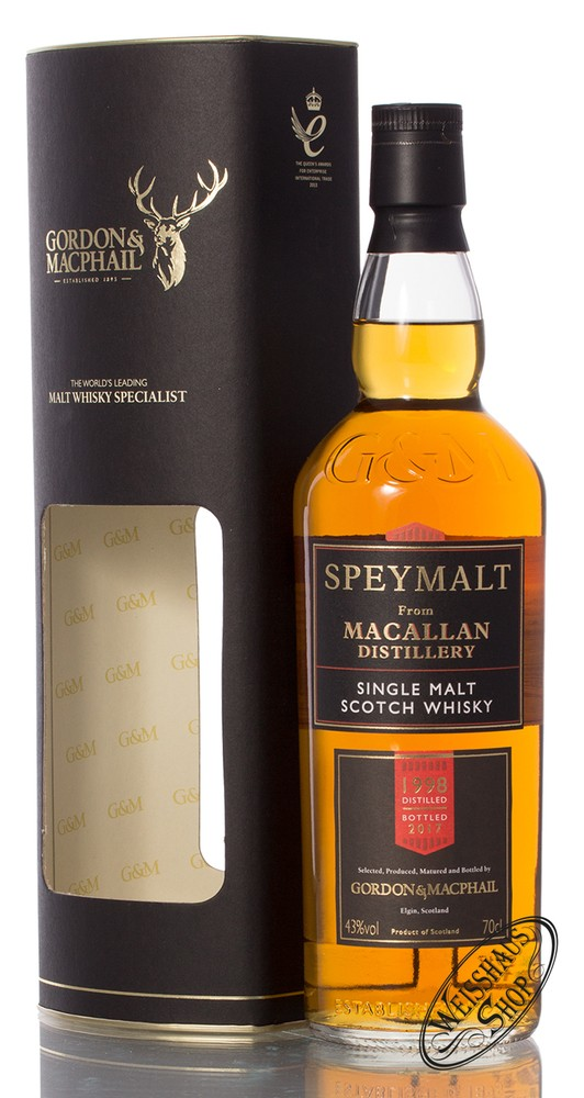 Macallan Speymalt Gordon & MacPhail Vintage 1998/2017 Whisky 43% vol. 0,70l