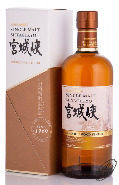Nikka Miyagikyo Bourbon Wood Finish Whisky 46% vol. 0,70l
