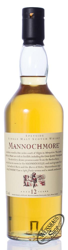 Mannochmore 12 YO Flora & Fauna Whisky 43% vol. 0,70l
