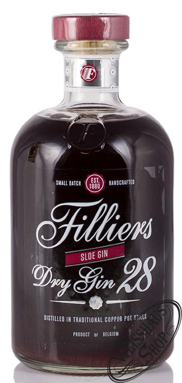 Filliers Sloe Gin 26% vol. 0,50l