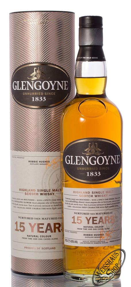 Glengoyne 15 YO Single Malt Whisky 43% vol. 0,70l