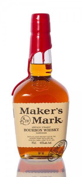 Maker's Mark Bourbon Whisky 45% vol. 0,70l