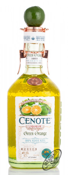 Cenote Tequila Green Orange Likör 40% vol. 0,70l