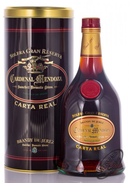 Cardenal Mendoza Carta Real Brandy 40% vol. 0,70l