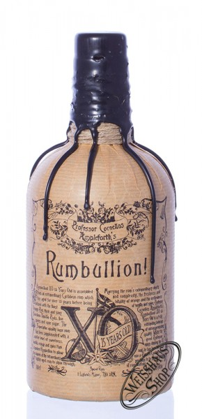 Professor Cornelius Ampleforth's Rumbullion! XO 15 YO 46,2% vol. 0,50l