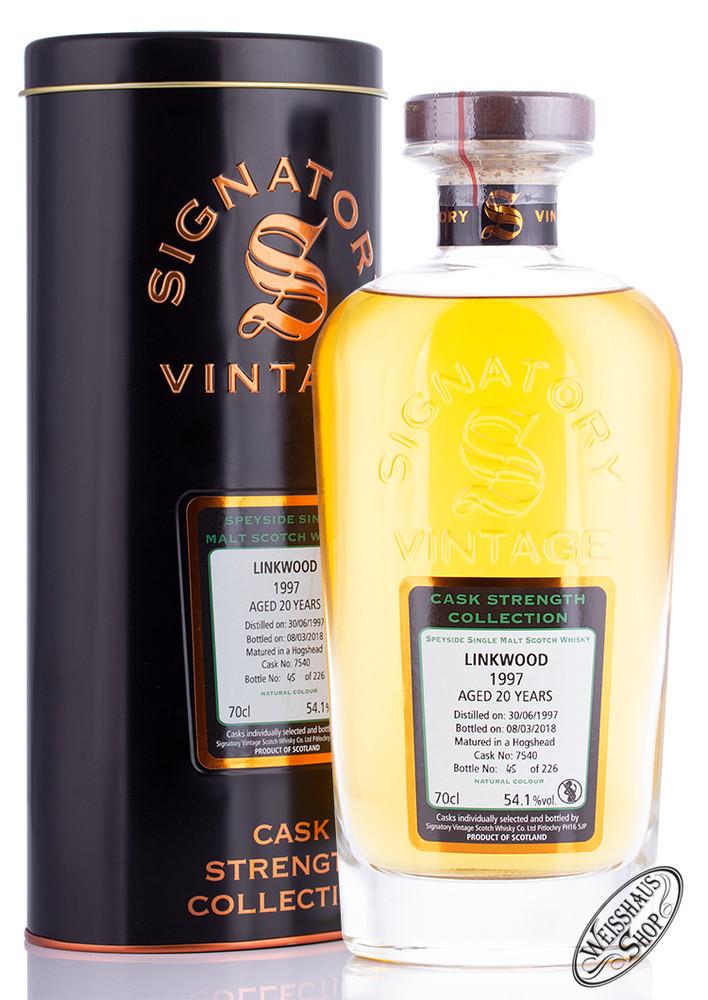 Linkwood Vintage 1997 Signatory Whisky 54,1% vol. 0,70l