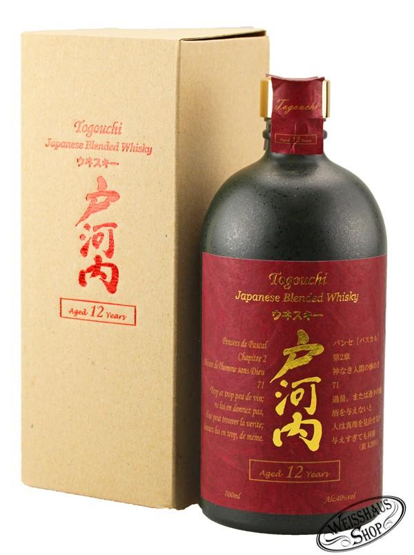 Togouchi 12 YO Blend Whisky 40% vol. 0,70l