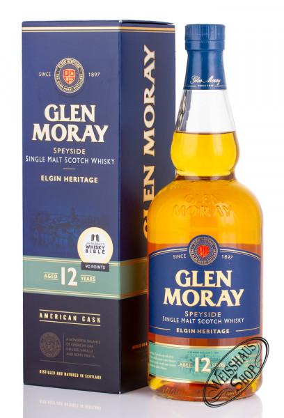 Glen Moray 12 YO Whisky 40% vol. 0,70l