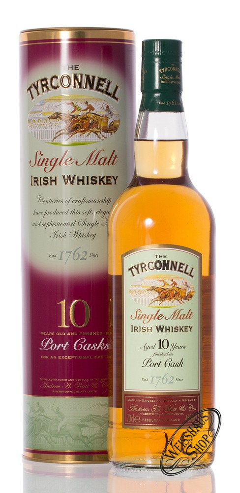 Tyrconnell 10 YO Port Cask Finish Whiskey 46% vol. 0,70l