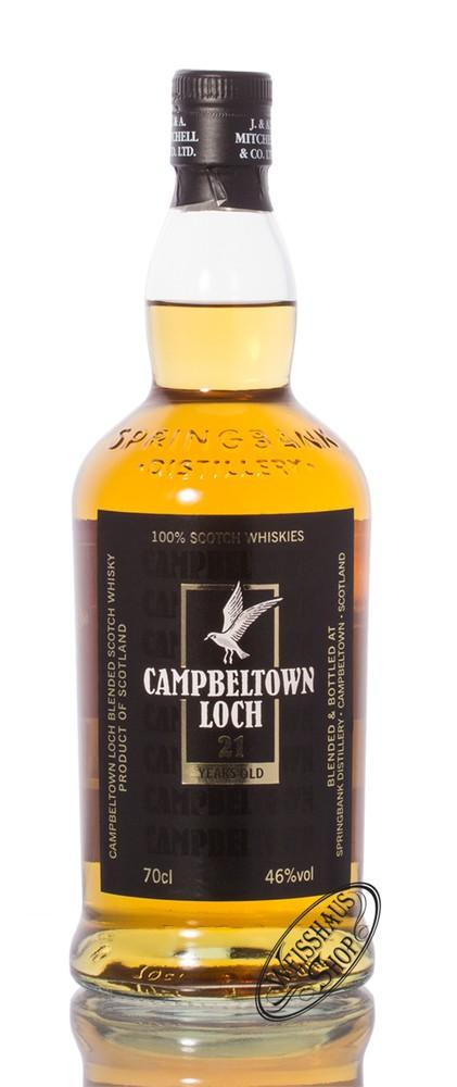 Springbank Campbeltown Loch 21 YO Blended Whisky 46% vol. 0,70l