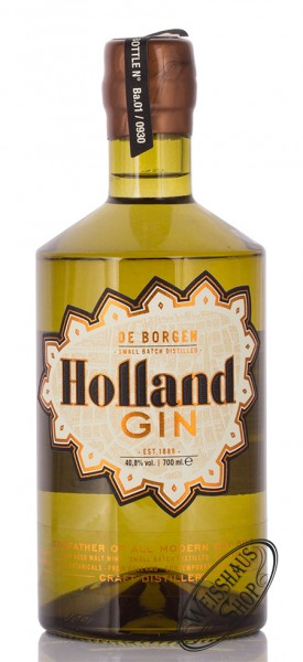 De Borgen Holland Gin 40,8% vol. 0,70l
