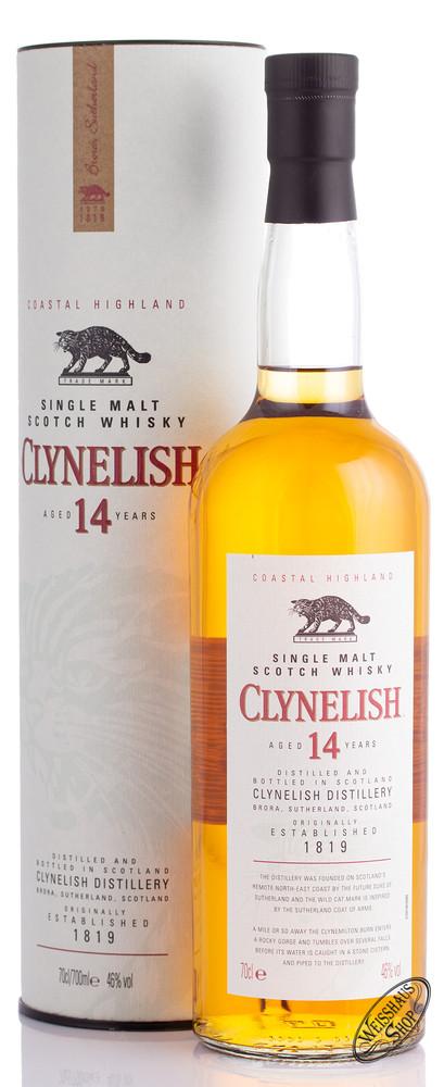 Clynelish 14 YO Whisky 46% vol. 0,70l