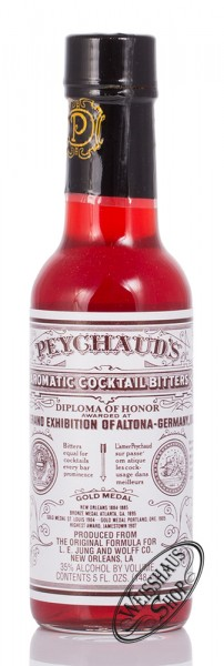 Peychaud's Aromatic Cocktail Bitters 35% vol. 0,148l