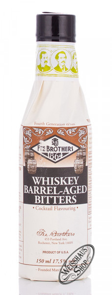 Fee Brothers Whisky Barrel Aged Bitters 17,5% vol. 0,15l