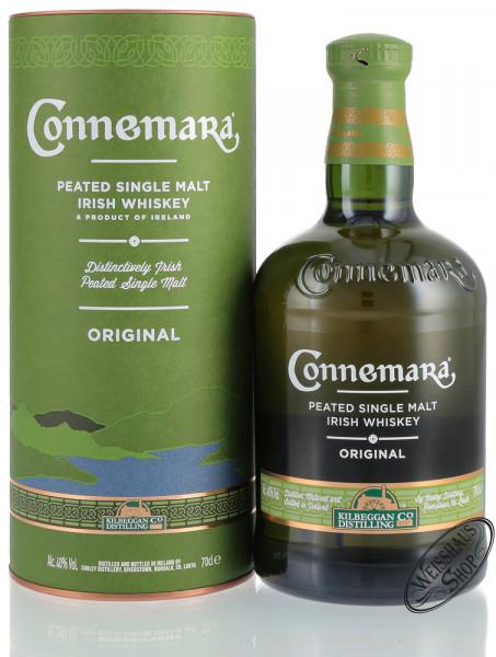 Connemara Peated Single Malt Irish Whiskey 40% vol. 0,70l