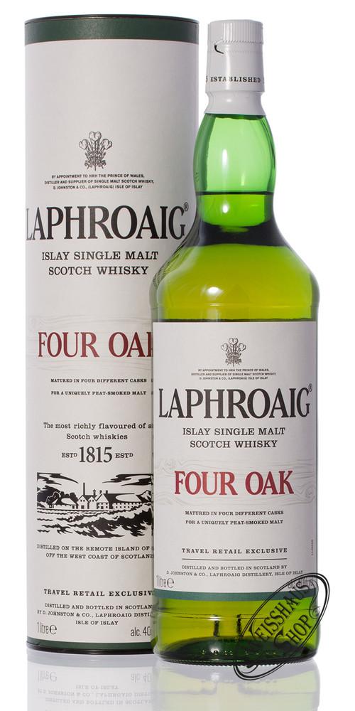 Laphroaig Four Oak Whisky 40% vol. 1,0l