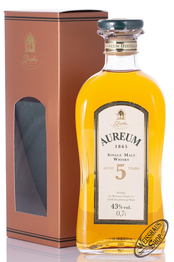 Brennerei Ziegler Ziegler Aureum 1865 Single Malt Whisky 43% vol. 0,70l