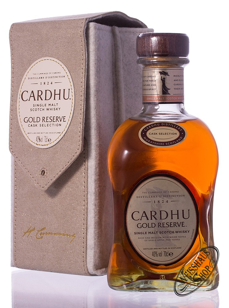 Cardhu Gold Reserve Whisky in Tasche 40% vol. 0,70l