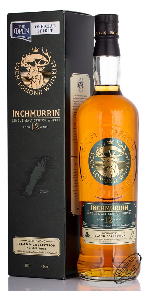 Loch Lomond Inchmurrin 12 YO Single Malt Whisky 46% vol. 0,70l