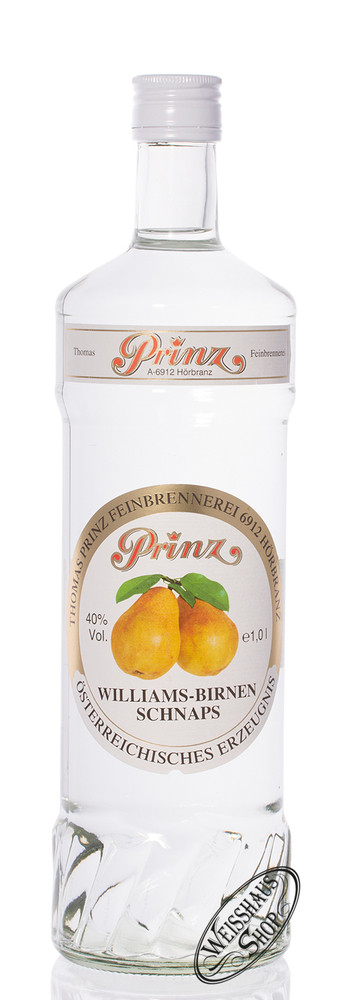 Thomas Prinz Prinz Williams-Birnen Schnaps 40% vol. 1,0l