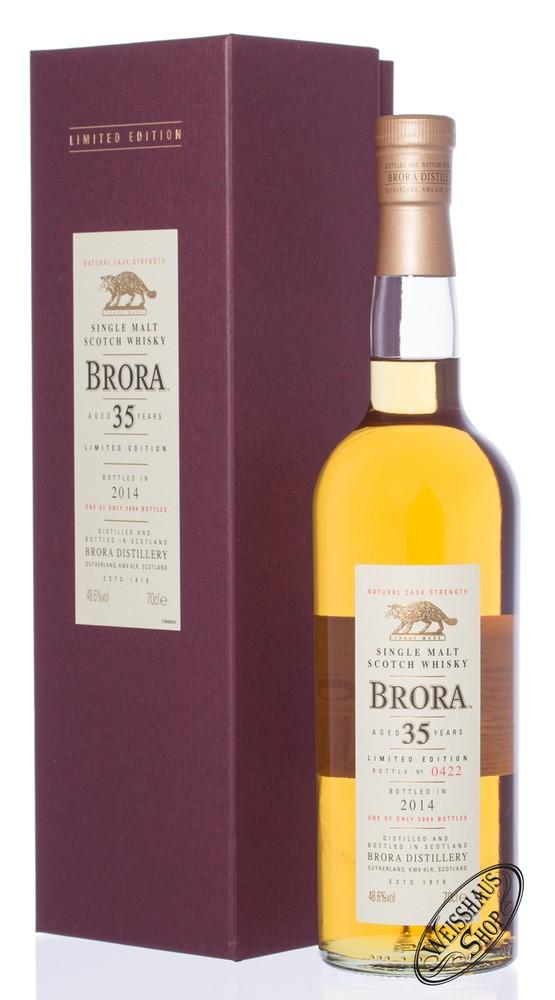 Brora 35 YO Special Release 2014 Whisky 48,6% vol. 0,70l
