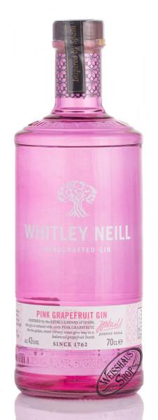 Whitley Neill Pink Grapefruit Gin 43% vol. 0,70l
