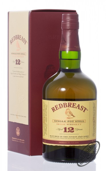 Redbreast 12 Years Old Irish Whiskey 40% vol. 0,70l