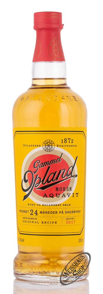 Gammel Opland Aquavit 41,5% vol. 1,0l