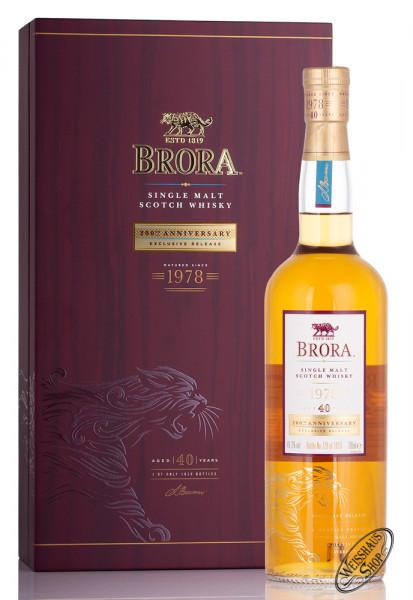 Brora 40 YO 200th anniversary Whisky 49,2% vol. 0,70l