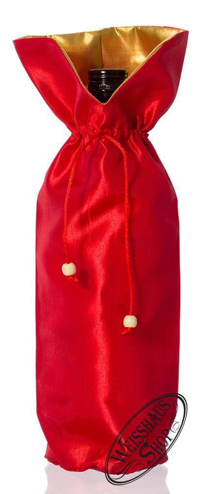 Weisshaus Rote Geschenktasche f�r 0,70l - Flasche