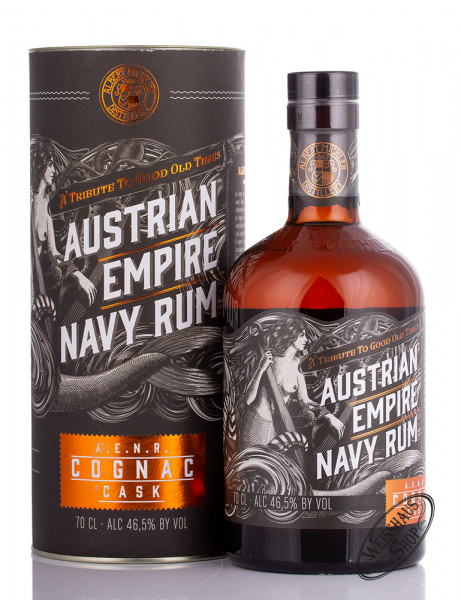 Austrian Empire Navy Rum Reserve Double Cask Cognac 46,5% vol. 0,70l