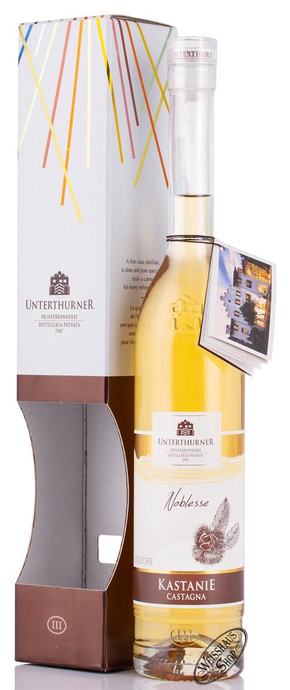 Unterthurner Kastanien Lik�r 28% vol. 0,50l