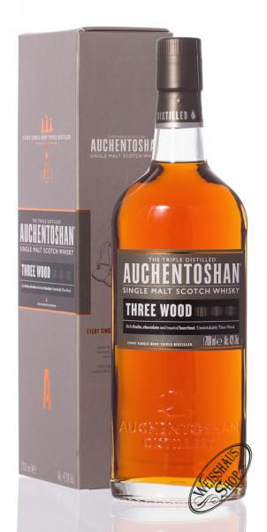 Auchentoshan Three Wood Single Malt Whisky 43% vol. 0,70l
