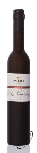 Walcher Grappa St. Magdalena Barrique 42% vol. 0,50l