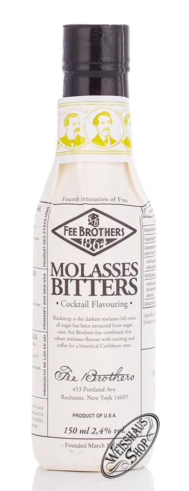 Fee Brothers Molasses Bitters 2,4% vol. 0,15l