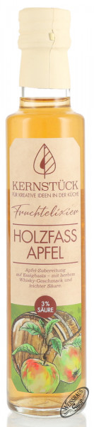 Kernstück Holzfass Apfel Würzessig 0,25l