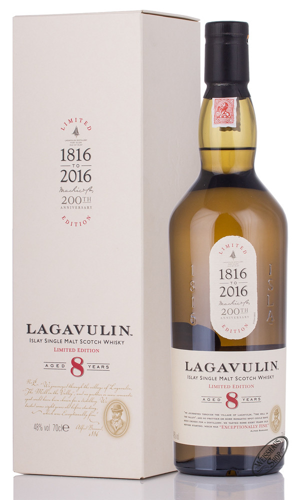 Lagavulin 8 YO Whisky 48% vol. 0,70l
