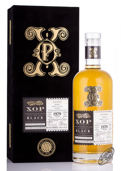 Port Ellen 36 YO Vintage 1979 Old Particular Whisky 49,6% vol. 0,70l
