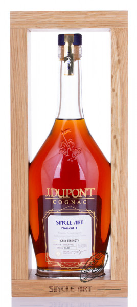 J. Dupont Single Art Cask Strength Moment 1 Cognac 42,3% vol. 0,70l