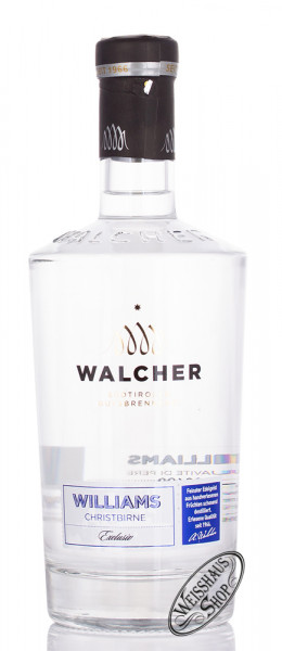 Walcher Williams Exclusiv 40% vol. 0,70l