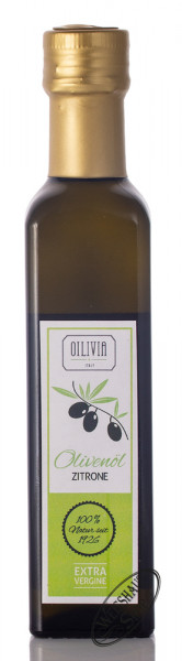 Oilivia Zitronen Olivenöl 0,25l
