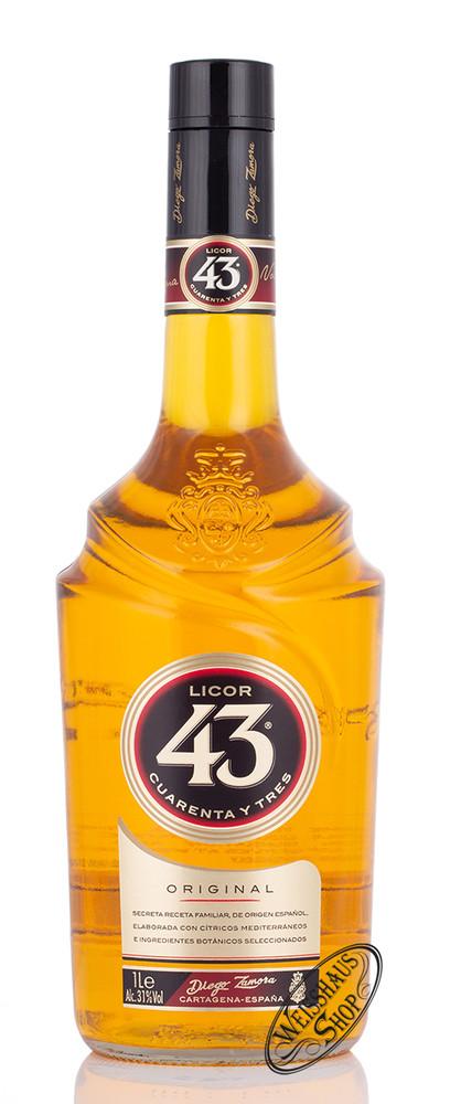 Diego Zamora Licor 43 31% vol. 1,0l