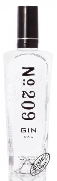 No. 209 Gin 46% vol. 0,70l