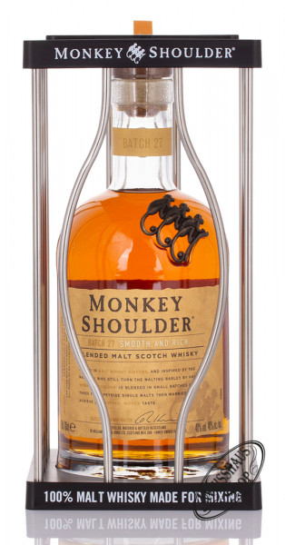 Monkey Shoulder Blended Malt Whisky GEPA 40% vol. 0,70l