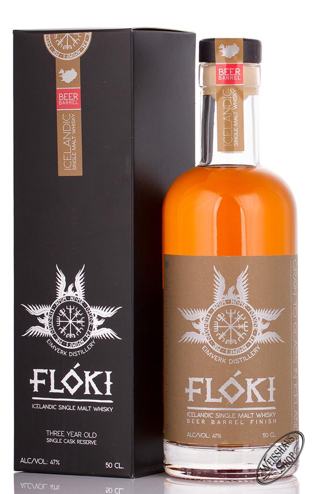 VOR Floki Icelandic Stout Beer Single Malt Whisky 47% vol. 0,50l