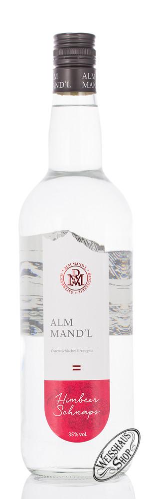 Alm Mand'l Himbeer Schnaps 35% vol. 1,0l