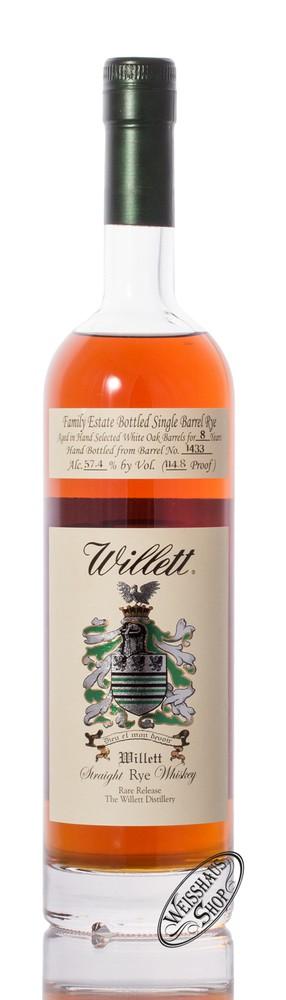 Willett Family Estate Rye 8 YO Whisky 57,4% vol. 0,75l