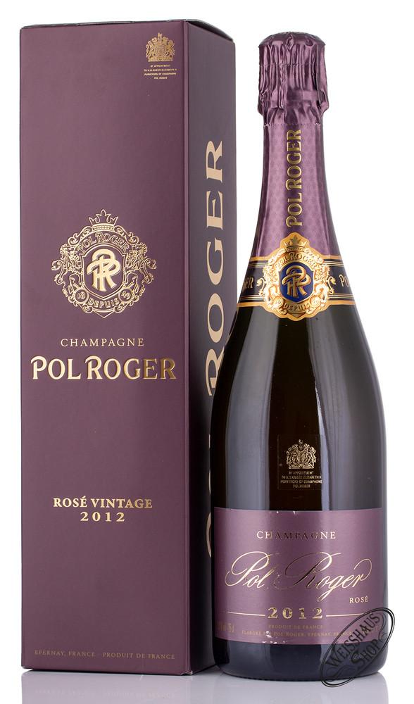 Pol Roger Ros� Vintage 2012 Champagner 12,5% vol. 0,75l