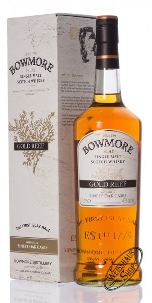 Bowmore Gold Reef Islay Whisky 43% vol. 1,0l